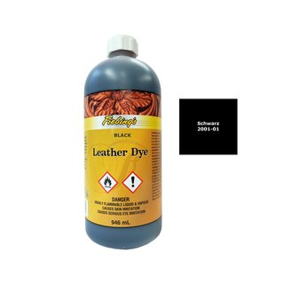 Fiebings Leather Dye - Schwarz - 946 ml