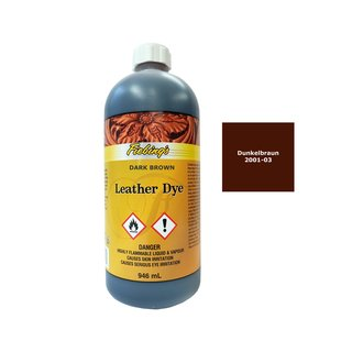Fiebings Leather Dye - Dunkelbraun - 946 ml