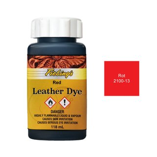 Fiebings Leather Dye - Rot - 118ml