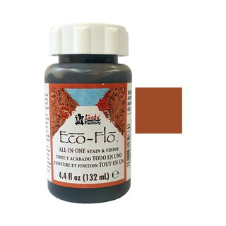 Eco-Flo All-In-One Stain & Finish - Acorn Braun