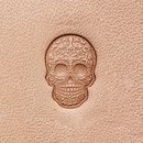 Mini 3D Stempel Sugar Skull