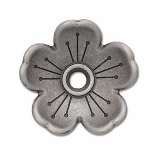 Blumenkranz Concho - 16mm - Antik Nickel Finish