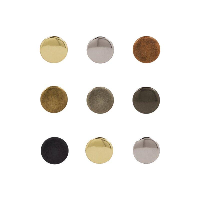 Nietendöpper Einschlagstempel mit Amboss für Hohlnieten Nieten 4,5-6 mm  NEU